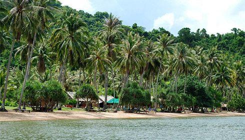 Ostrov Ko Tonsay, Kambodža