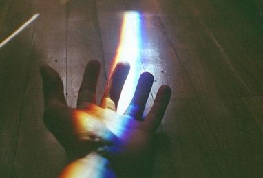 Trafitto da un arcobaleno