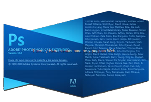 Adobe Photoshop CS5 Extended Portable en espaol.