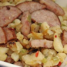 Smoked Sausage-Potato Hash