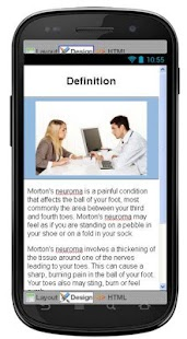 Mortons Neuroma Information - screenshot
