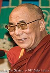 Tenzin Gyatso - o 14º Dalai Lama (o atual)
