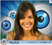 Talula modelo - bbb 11 big brother brasil 2011 golpe