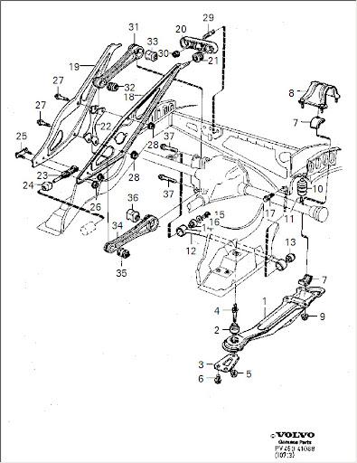 740t Wagon Rear End Bushings - Volvo Forums