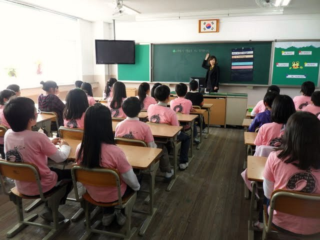 korean model schools classrooms on steriods and bred for