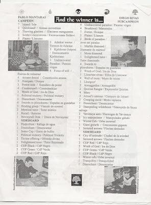 Mazos Nacional 97