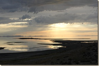 Sunset on Antelope Island 033