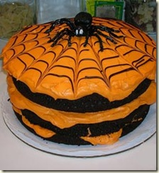 halloween-cake-decorating-spiderweb