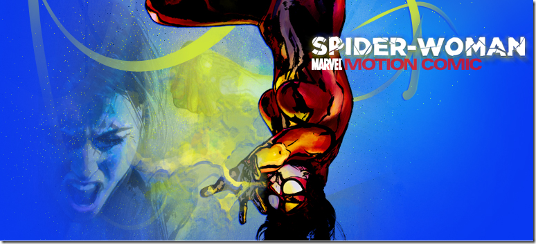 Spider-Woman Motion Comic
