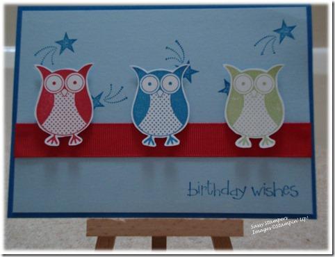 Owl Punch Bunch SAB