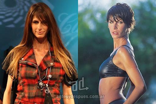 Antes y despues de Dolores Moreno - Corte de pelo, nuevo look