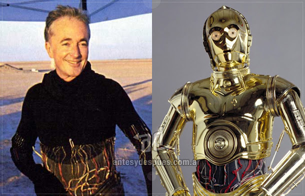 Anthony Daniels sin máscara