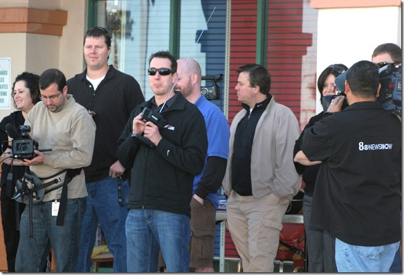 2009 Las Vegas NSCS Winners Circle Kyle Busch HobbyTown rheostat RC car