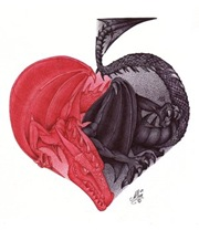 Half_heart_half_Spades_Dragon_by_ArtisAllan