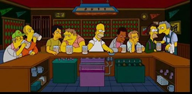 simpsons-last-supper