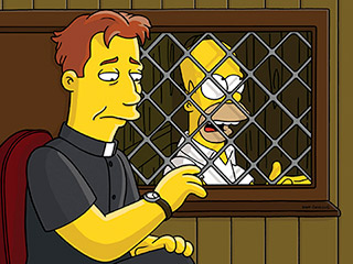Homer Simpson is not Catholic by Ken Symes