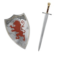 Shield and sword for Peter