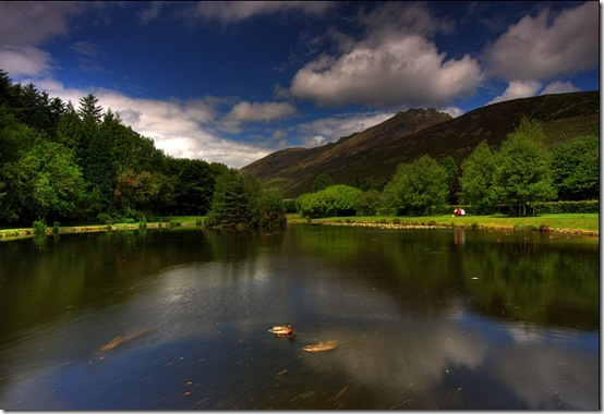 Silent Valley near Newy in the Mournes