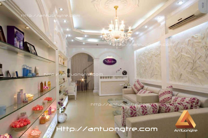 Thiet ke showroom spa