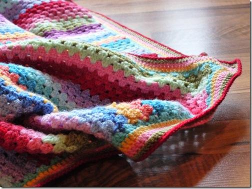 Granny Stripe Blanket (6)
