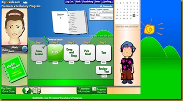 Big IQ Kids Vocabulary program