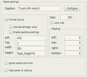 Track info mod 6の配置