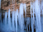 Icicles at the Drips