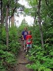 Hiking trail at Price Rec