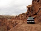 Shelf road into Spring Canyon