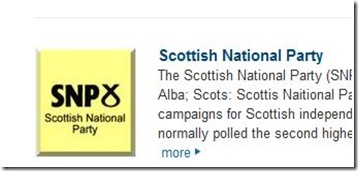 scot nats i don't think so