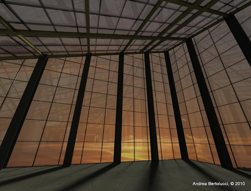 Il mio progettino in 3d skyscrapercity - Superficie calpestabile ...