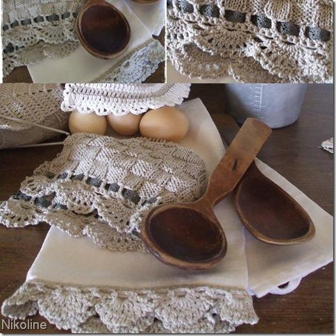 kjøkken-håndklær