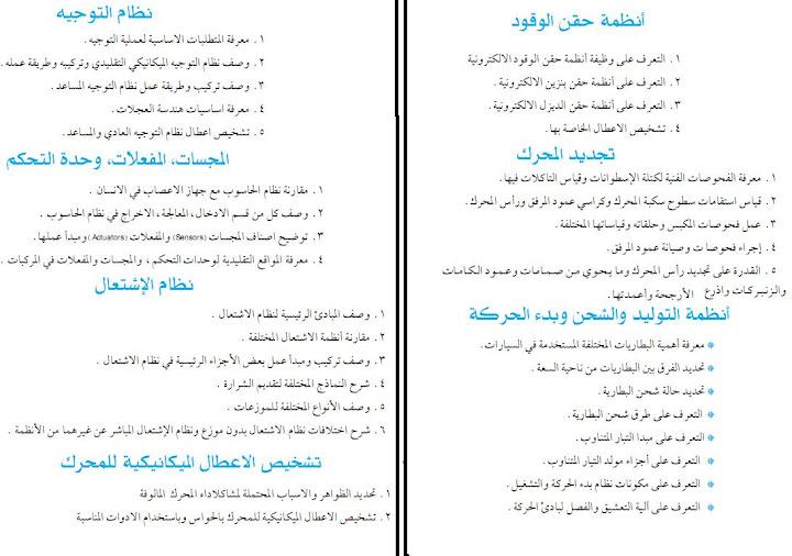 كتب عربى خلاصه لاساسيات كهرباء وميكانيكا السيارات اقراها ومتخليش حد يشتغلك بعد كده  4