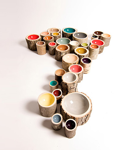 Eco-Friendly Log Bowls by Doha Chebib 2