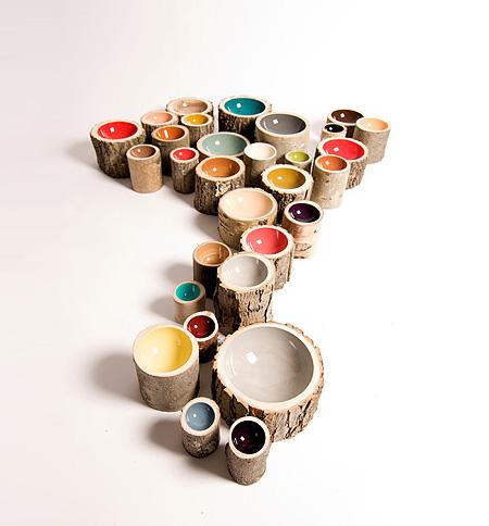 Eco-Friendly Log Bowls by Doha Chebib 2