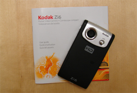 Kodak Zi6 Pocket Video Camera Review 7