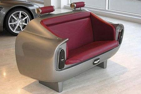 Aston Martin DB6 Sofa