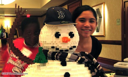 Lego Snowman 2
