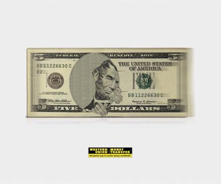 Western Union Advertisement