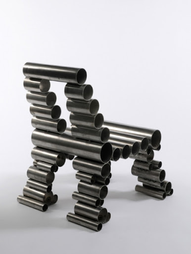 Tube Chair by Osian Batyka-Williams 2