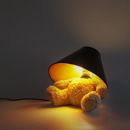 Teddy Bear Lamp by Matthew Kinealy 4