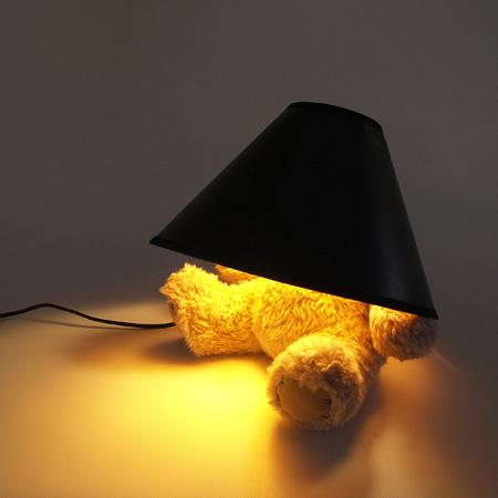 Teddy Bear Lamp by Matthew Kinealy 6