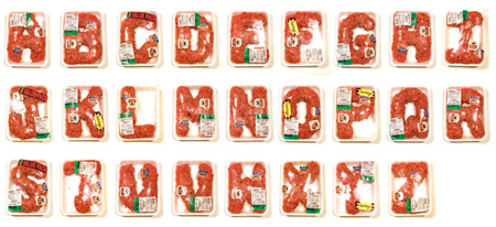 Meat Alphabet by Robert J. Bolesta 4