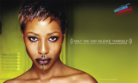 Only You Can Silence Yourself Campaign 7