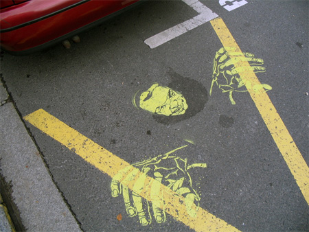 Pedestrian Street Art by Peter Gibson 19