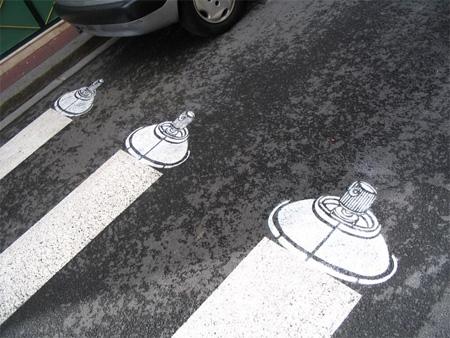 Pedestrian Street Art by Peter Gibson 15