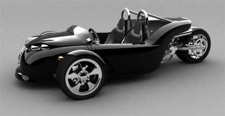 V13R Campagna Motors 3 Wheel Roadster 7