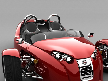 V13R Campagna Motors 3 Wheel Roadster 9