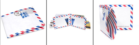 Air Mail Envelope Wallet