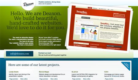 Green CSS Designs 09